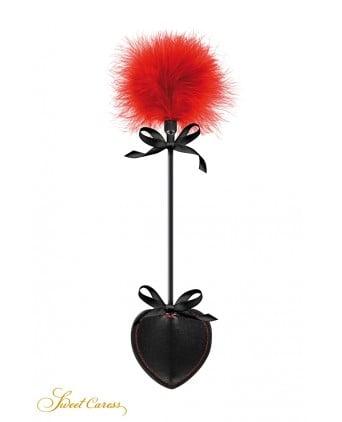 Tapette pique avec pompon rouge - Sweet Caress - Import busyx