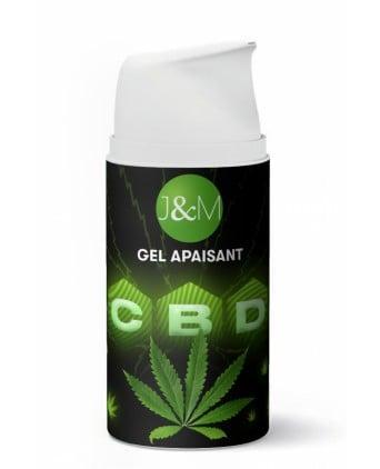Gel apaisant au CBD Jacquie et Michel - Effet chaud/froid - Gels et crèmes de massage CBD