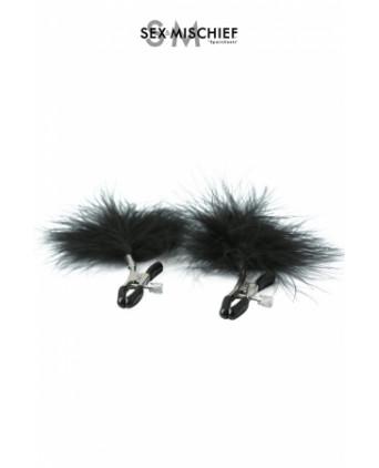 Pinces à tétons plume - S&M - Pinces, poids