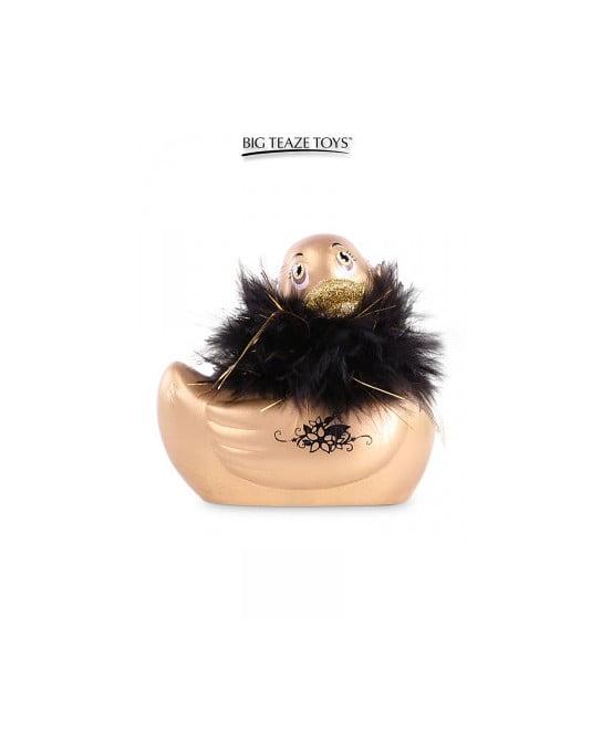 Mini canard vibrant Duckie Paris - doré - Canards, Vibros Funs