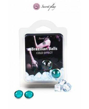 2 Brazilian Balls effet frais - Huiles et crèmes de massage