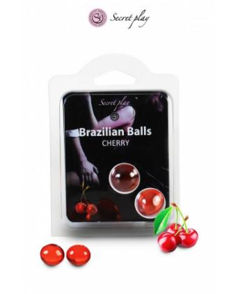 2 Brazilian Balls - cerise - Massages érotiques