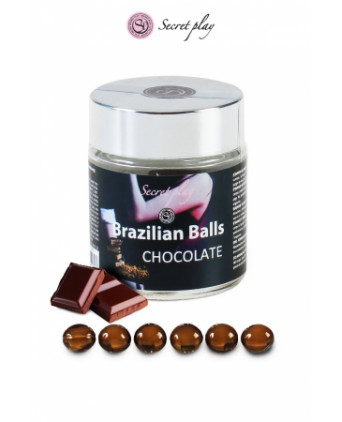 6 Brazilian Balls - chocolat - Massages érotiques