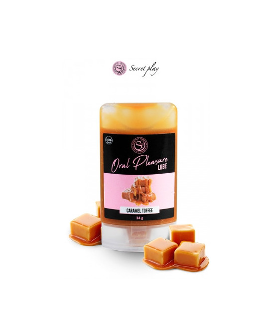 Lubrifiant comestible caramel toffee - Lubrifiants intimes