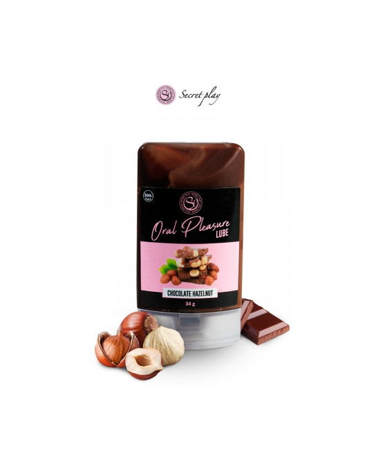 Lubrifiant comestible chocolat-noisette - Lubrifiants intimes