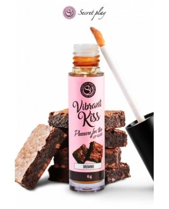 Brillant à lèvres stimulant - brownie - Peintures et comestibles