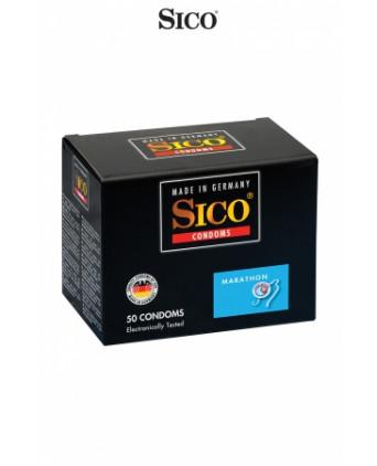 50 préservatifs Sico MARATHON - Préservatifs