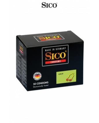 50 préservatifs Sico GRIP - Préservatifs