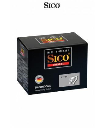 50 préservatifs Sico X-TRA - Préservatifs