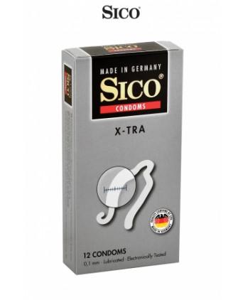 12 préservatifs Sico X-TRA - Préservatifs