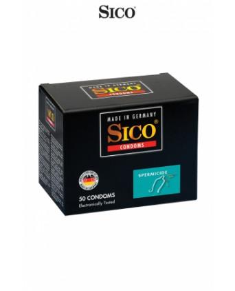 50 préservatifs Sico SPERMICIDE - Préservatifs