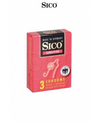 3 Préservatifs Sico SENSITIVE - Préservatifs