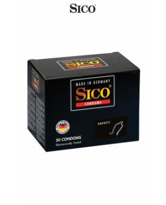 50 préservatifs Sico SAFETY - Préservatifs