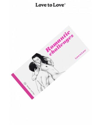 Chéquier Romantic Challenges - Jeux couple