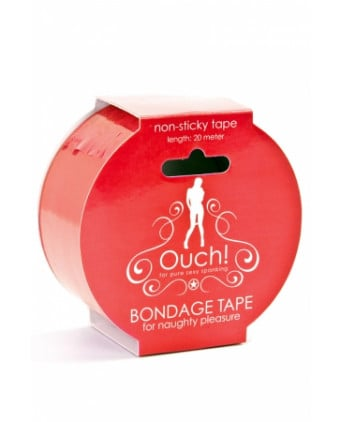 Ruban de bondage 20 m - rouge - Attaches, contraintes