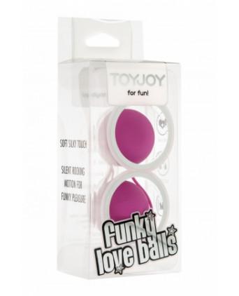 Funky Love Balls - fuchsia - Boules de Geisha