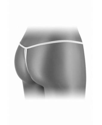 String ouvert Danuta - blanc - Dessous Sexy
