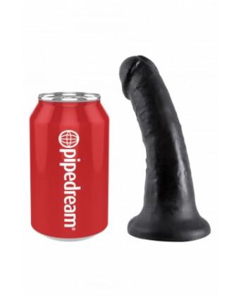 Gode réaliste noir 15 cm - King Cock - Godes réalistes