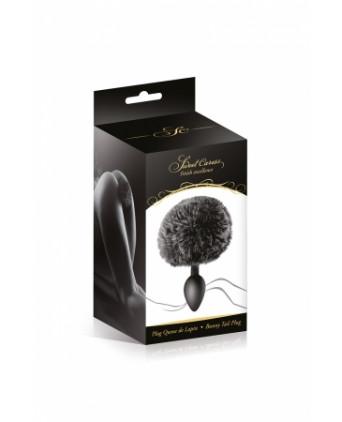 Plug queue de lapin - noir - Plugs , anus pickets