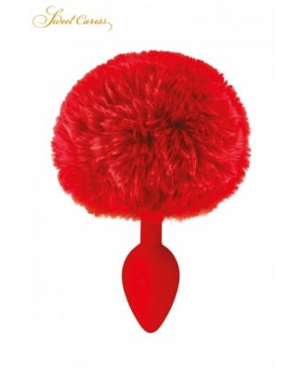 Plug queue de lapin - rouge - Plugs, anus pickets