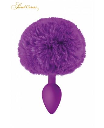 Plug queue de lapin - violet - Plugs , anus pickets