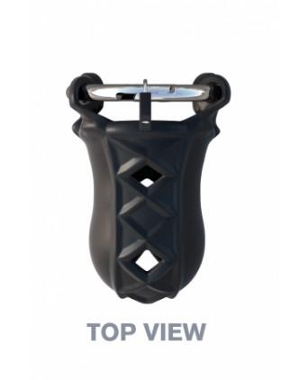 Cage de chasteté en silicone - Attaches, contraintes