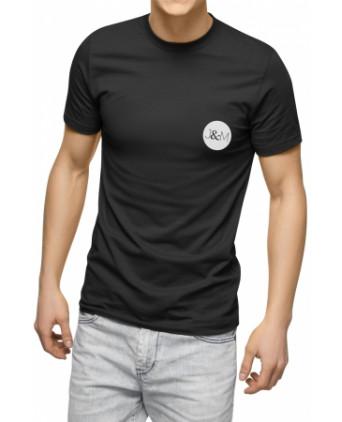 Tee-shirt Phosphorescent Jacquie et Michel - noir - T-shirts Homme