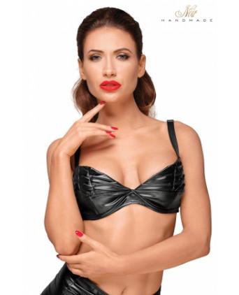 Top bikini F174 - Lingerie vinyle femme