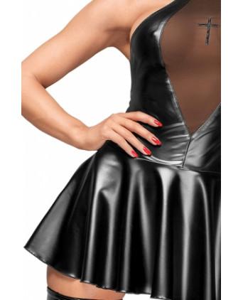 Mini robe évasée F184 - Robes sexy