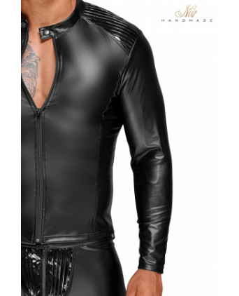 Blouson style biker H052 - Prêt à porter