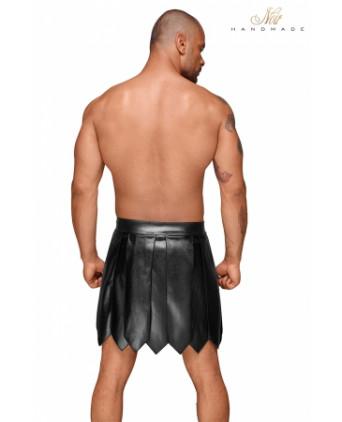 Jupe gladiateur faux cuir H053 - Prêt à porter
