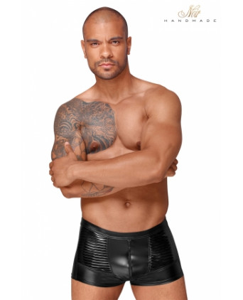 Short wetlook H054 - Boxers et caleçons