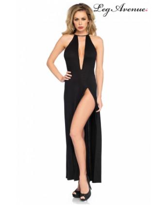 Robe longue fendue Zara - Robes sexy
