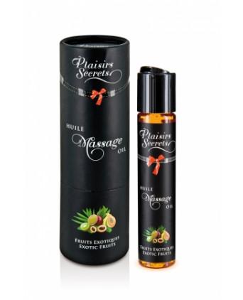 Huile de massage gourmande - Fruits Exotiques - Massages érotiques