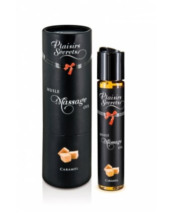 Huile de massage gourmande - Caramel - Massages érotiques