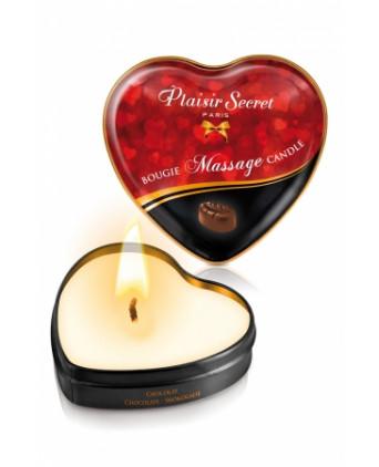 Mini bougie de massage Chocolat - Massages érotiques
