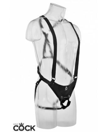 Gode ceinture creux 25 cm - noir - Godes ceinture