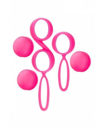 Kit 2 boules de Geisha Yoba - rose - Boules de Geisha