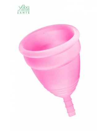 Coupe menstruelle Rose Yoba Nature - Hygiènes, poires lav.