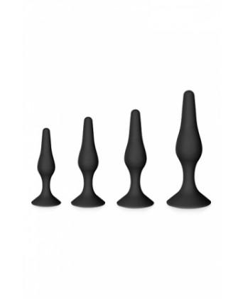 Coffret 4 soft plugs - Glamy - Plugs , anus pickets
