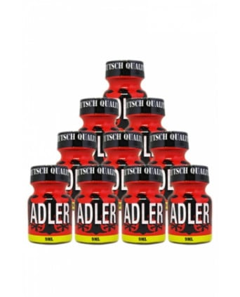 Pack 10 Poppers Adler 9ml - Poppers