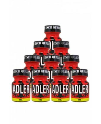 Pack 10 Poppers Adler 9ml - Poppers