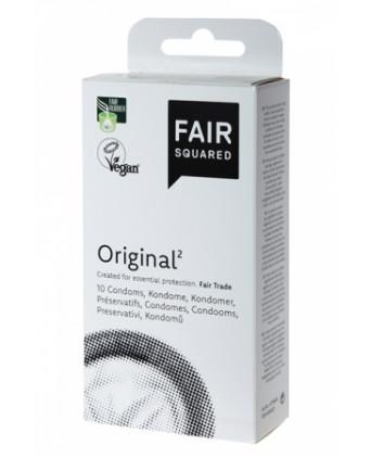 10 préservatifs Fair Squared Original - Préservatifs