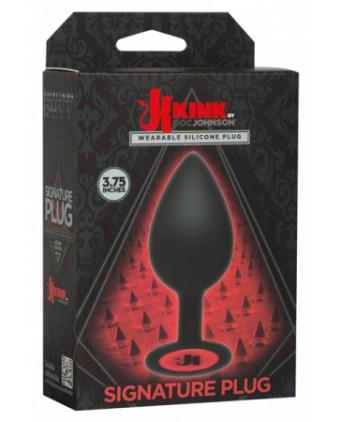 Plug anal Kink 9,5 cm - Plugs , anus pickets