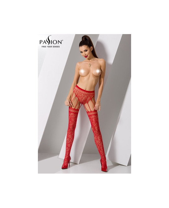 Collants S003 - Rouge - Collants, bas