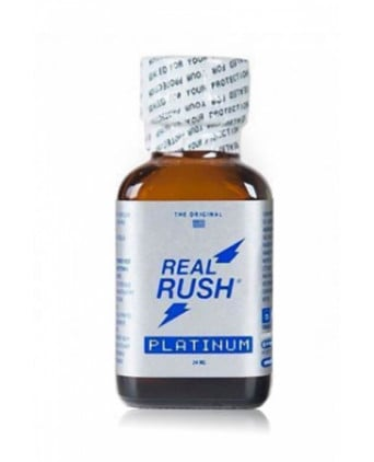 Poppers real rush platinum 24ml - Poppers