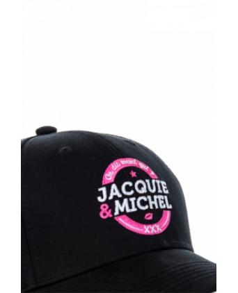 Casquette officielle Jacquie et Michel n°2 - noir - Bobs et Casquettes