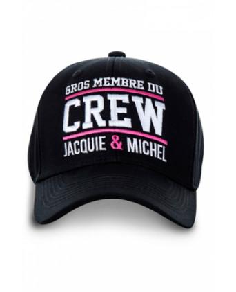 Casquette Jacquie et Michel Crew - noir - Bobs et Casquettes