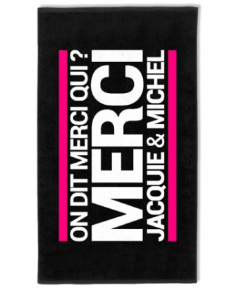 Serviette J&M microfibre - Plein air