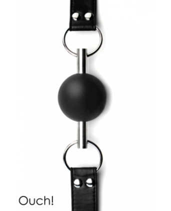 Solid Ball Gag - Black - Baillons, gagballs